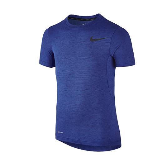 Nike - Nike Dri-fit Boys Training Shirt-Blue