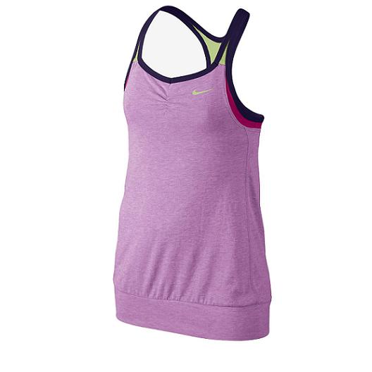 Nike - Nike Girls Dri-fit Cool 2 in 1 -Purple