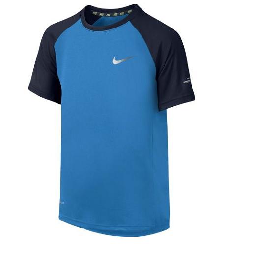 Nike - Nike Nike Miler Graphic Boys Short-Sleeve Crew