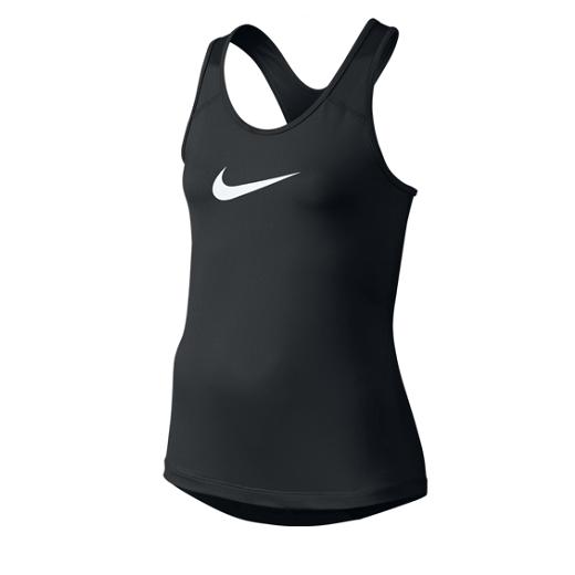 Nike - Nike Pro Cool Girls Training Tank Top-Black