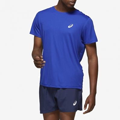 Asics - Asics Sports SS Top T-Shirt Dark Blue