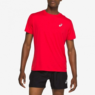 ASICS - Asics Sports SS Top T-Shirt Scarlet
