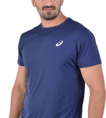 Asics - Asics Sports SS Top T-Shirt Navy