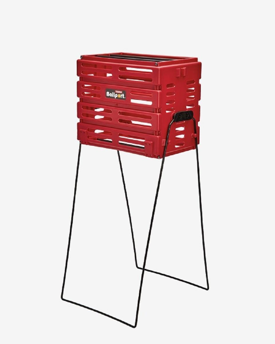 Ballport - Ballport 80 Top Kapasiteli Toplama Sepeti - Kırmızı