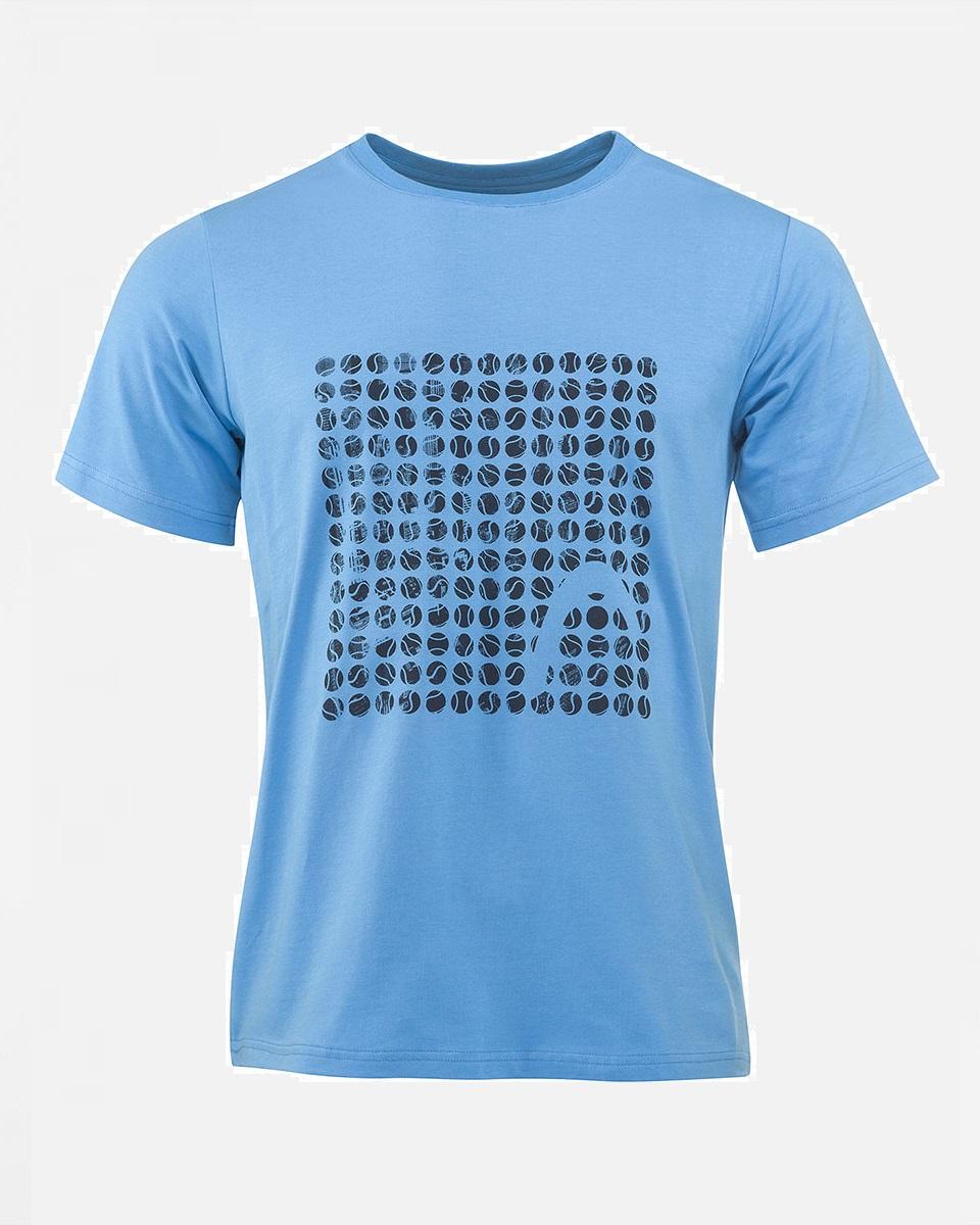 HEAD - Head Alfred Erkek T Shirt AQUA