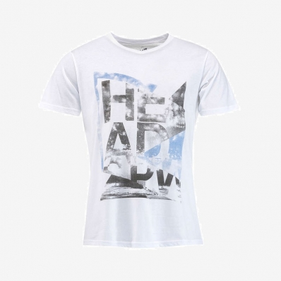 Head - Head Men Alcott V-Neck T-Shirt Beyaz