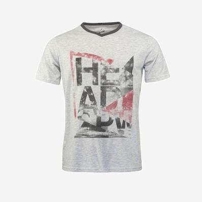 HEAD - Head Men Alcott V-Neck T-Shirt Gri