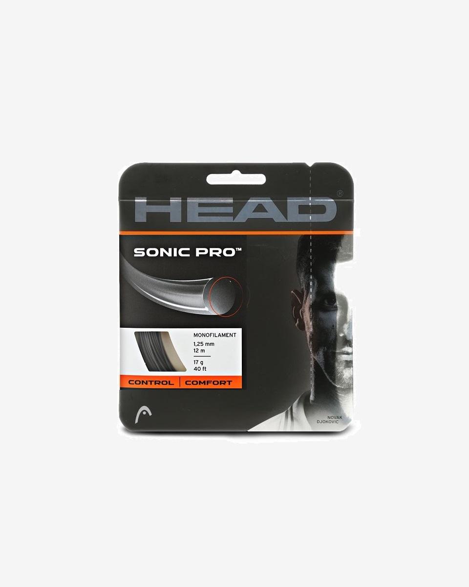 HEAD - Head Sonic Pro Black 1.25 Tekli Kordaj