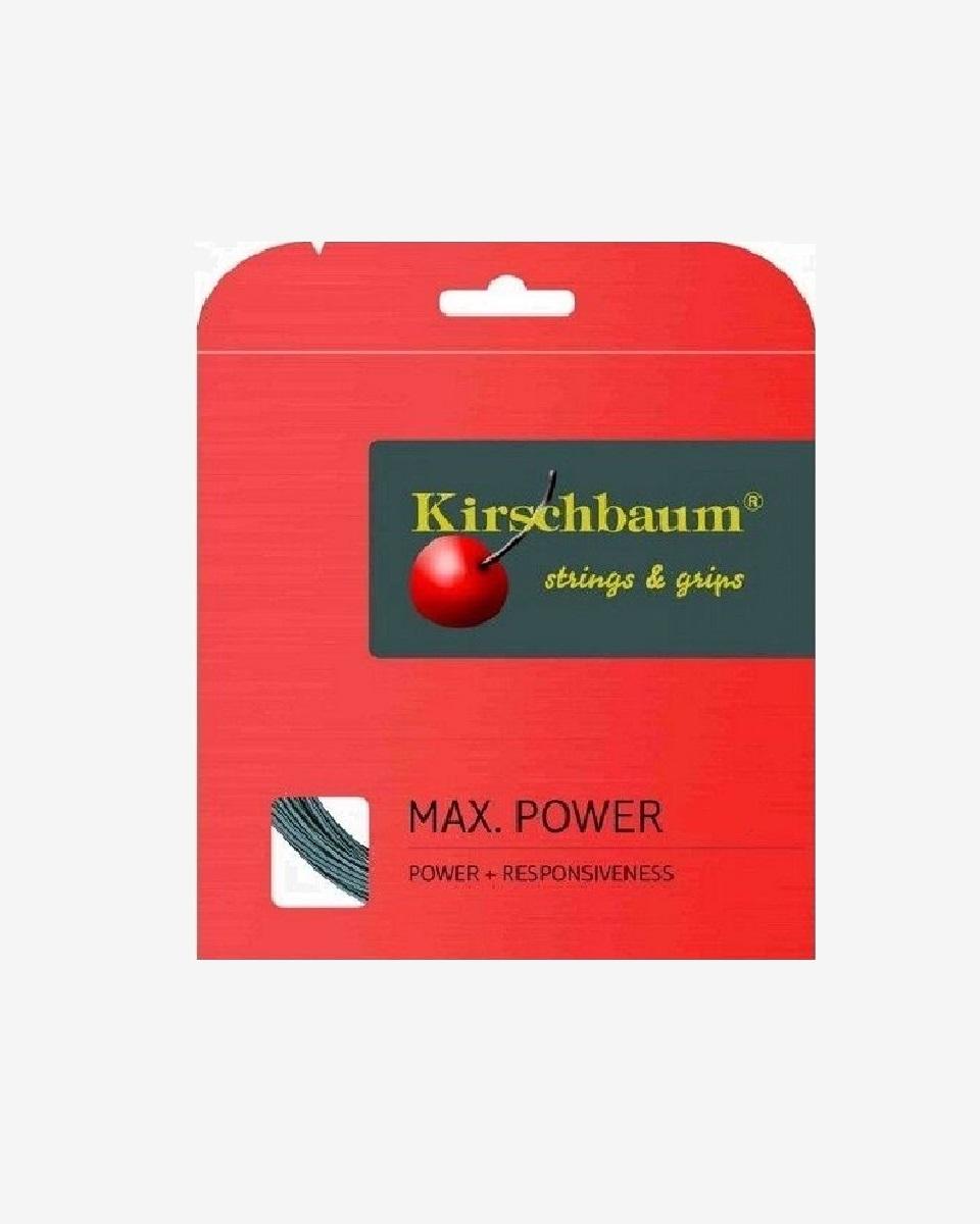 KİRSCHBAUM - Kirschbaum Max Power Tekli Kordaj 12mt