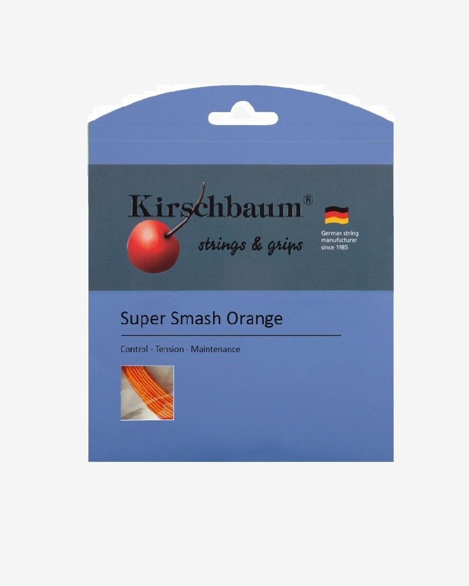 KİRSCHBAUM - Kirschbaum Super Smash Orange Tekli Kordaj 12mt
