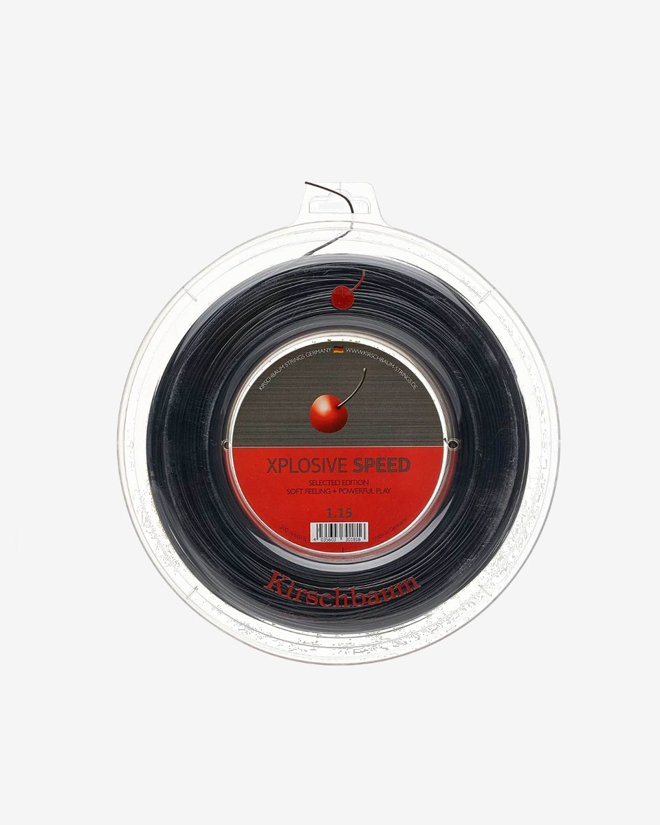 KİRSCHBAUM - Kirschbaum Xplosive Speed 1.23mm 200 Siyah