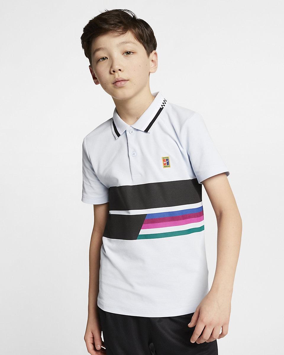 NIKE - Nike Court Advantage Polo Çocuk Tenis
