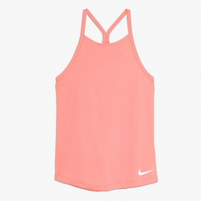 NIKE - Nike Dri-FIT Kız Çocuk Tenis Tank - Pink