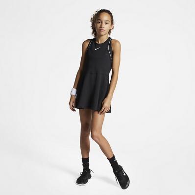 Nike - Nike Dri-Fit Kız Çocuk Tenis Elbisesi
