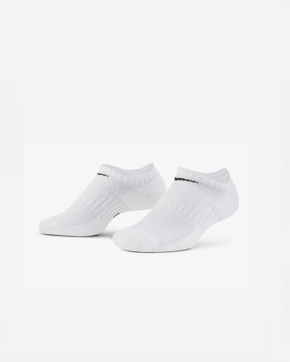 NIKE - Nike Everyday Cushioned 3 Lü Çorap Beyaz