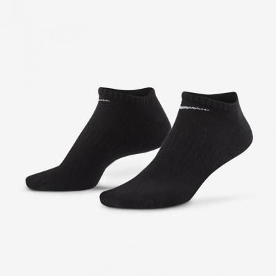 NIKE - Nike Everyday Cushioned 3 Lü Çorap Siyah
