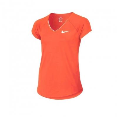 NIKE - Nike Pure Kız Çocuk Tenis Tişortu