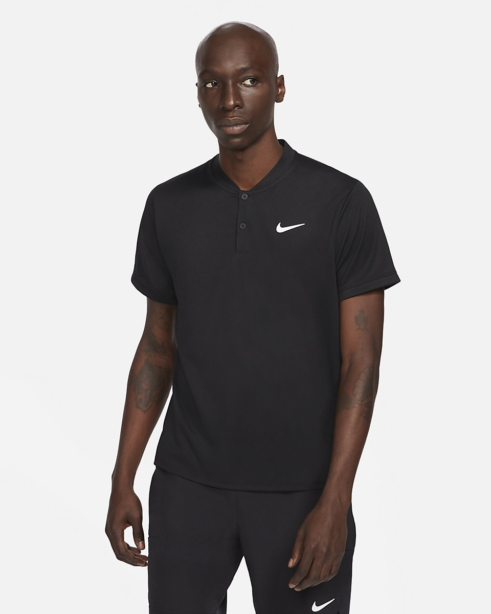 NIKE - Nike Nkct Polo Blade Erkek Tenis Tişörtü