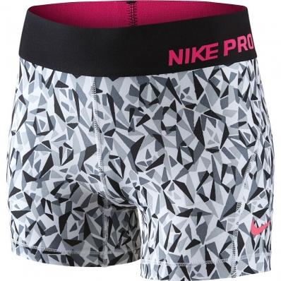 NIKE - Nike Pro Cool Allover Kız Çocuk Tayt-Siyah