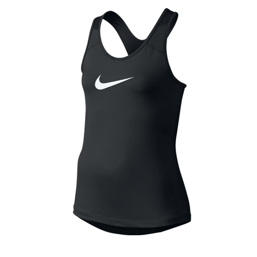 Nike - Nike Pro Cool Girls Training Tank Top-Black