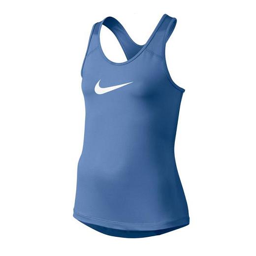 Nike - Nike Pro Cool Girls Training Tank Top-Blue