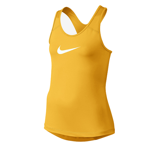 Nike - Nike Pro Cool Girls Training Tank-Yellow