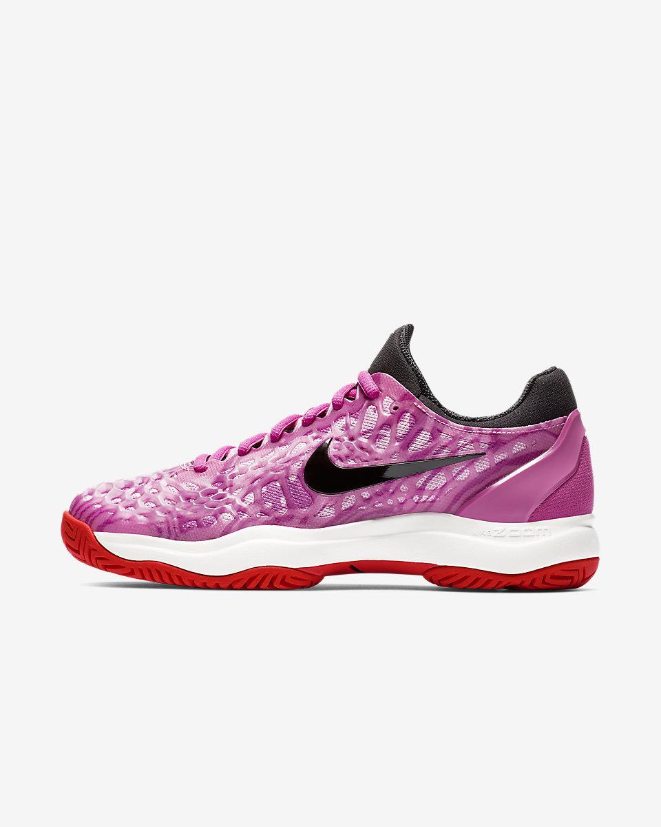 NIKE - Nike Zoom Cage 3 Kadın Tenis Ayakkabısı