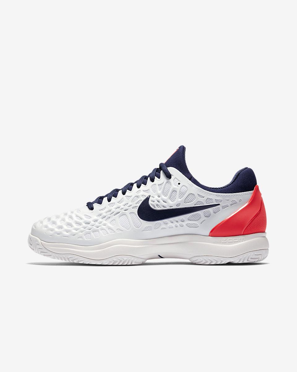 NIKE - Nike Zoom Cage 3 Erkek Tenis Ayakkabısı
