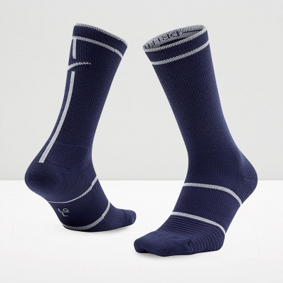 Nike - Nike Court Essentials Crew Socks - Blue Recall/White