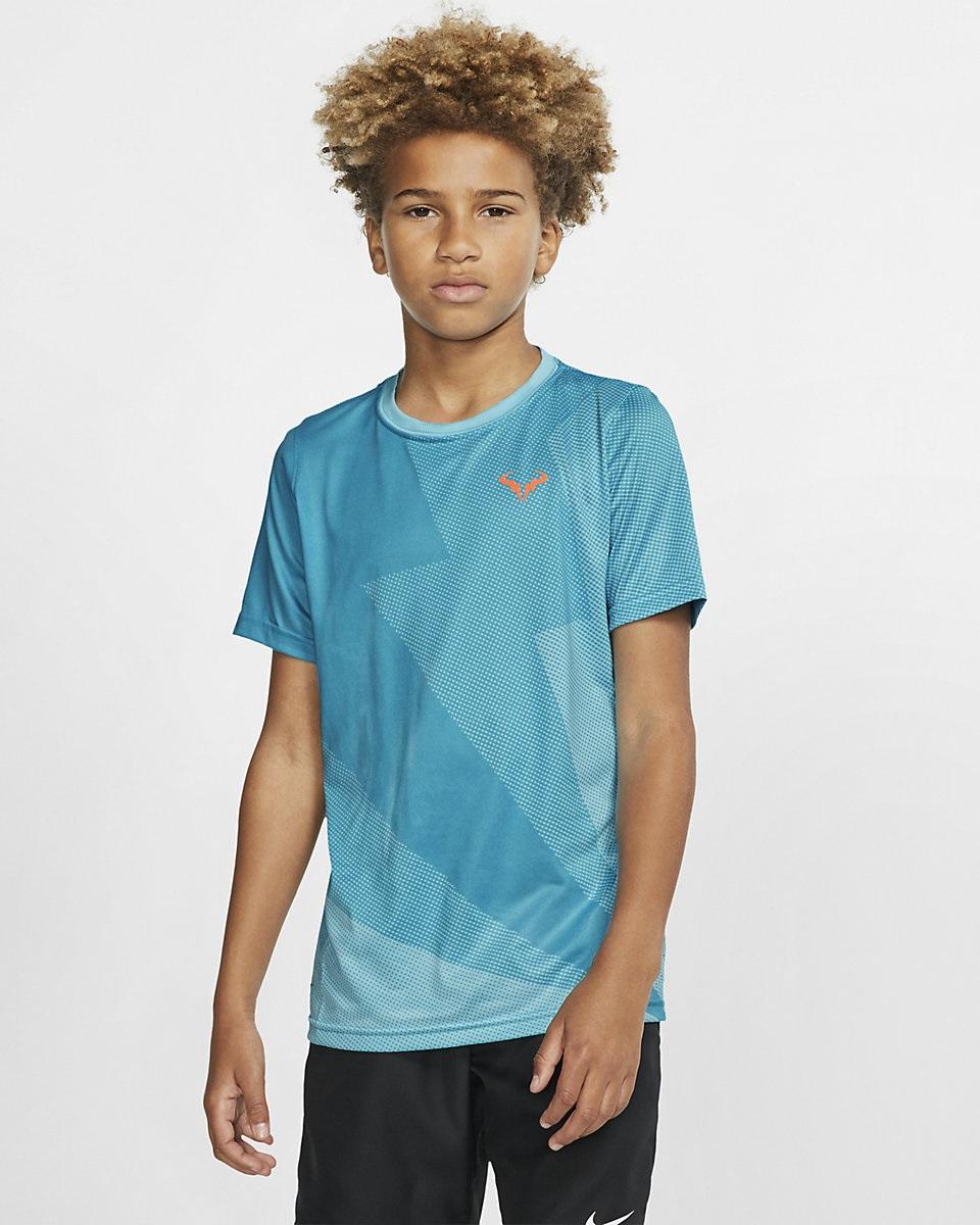 NIKE - Nike Rafa Çocuk Tenis T-Shirt