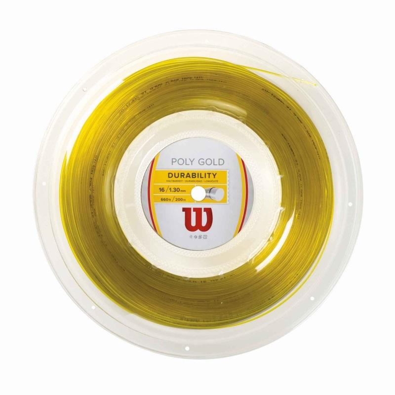 WİLSON - Wilson Poly Gold 1.30 Rulo Kordaj