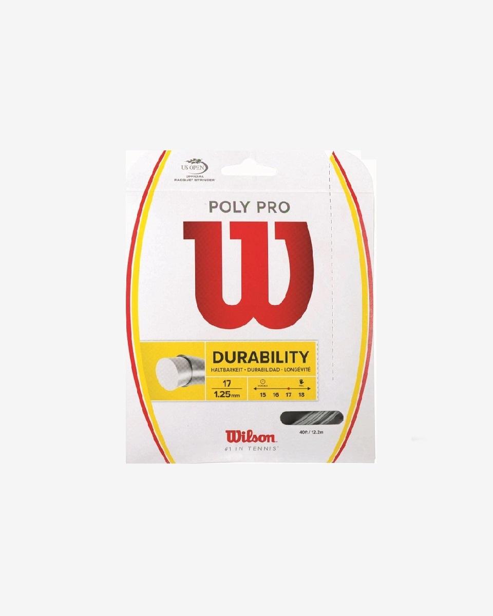 WİLSON - Wilson Poly Pro 1.25/17