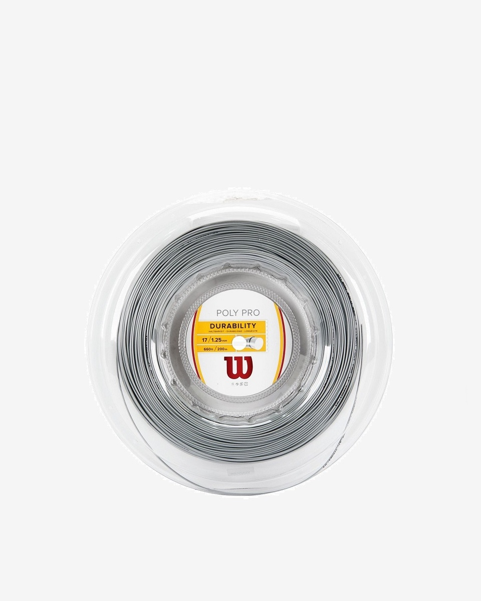 WİLSON - Wilson Poly Pro 1.25 200m Rulo