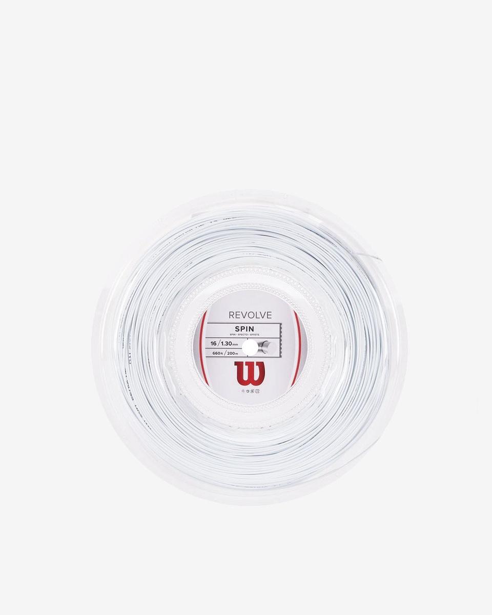 WİLSON - Wilson Revolve 1,25 Beyaz 200m Rulo