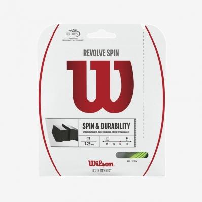 Wilson - Wilson Revolve Spin 1,30 Tekli Raket Kordajı Yeşil