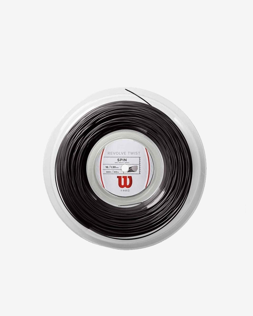 WİLSON - Wilson Revolve Twist 17 200m Rulo Siyah 1.25 sp