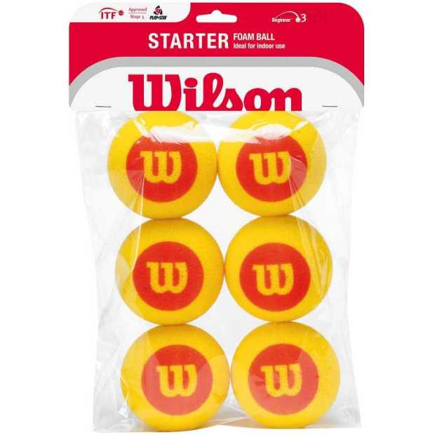Wilson - Wilson Sünger Toplar - 6 Top